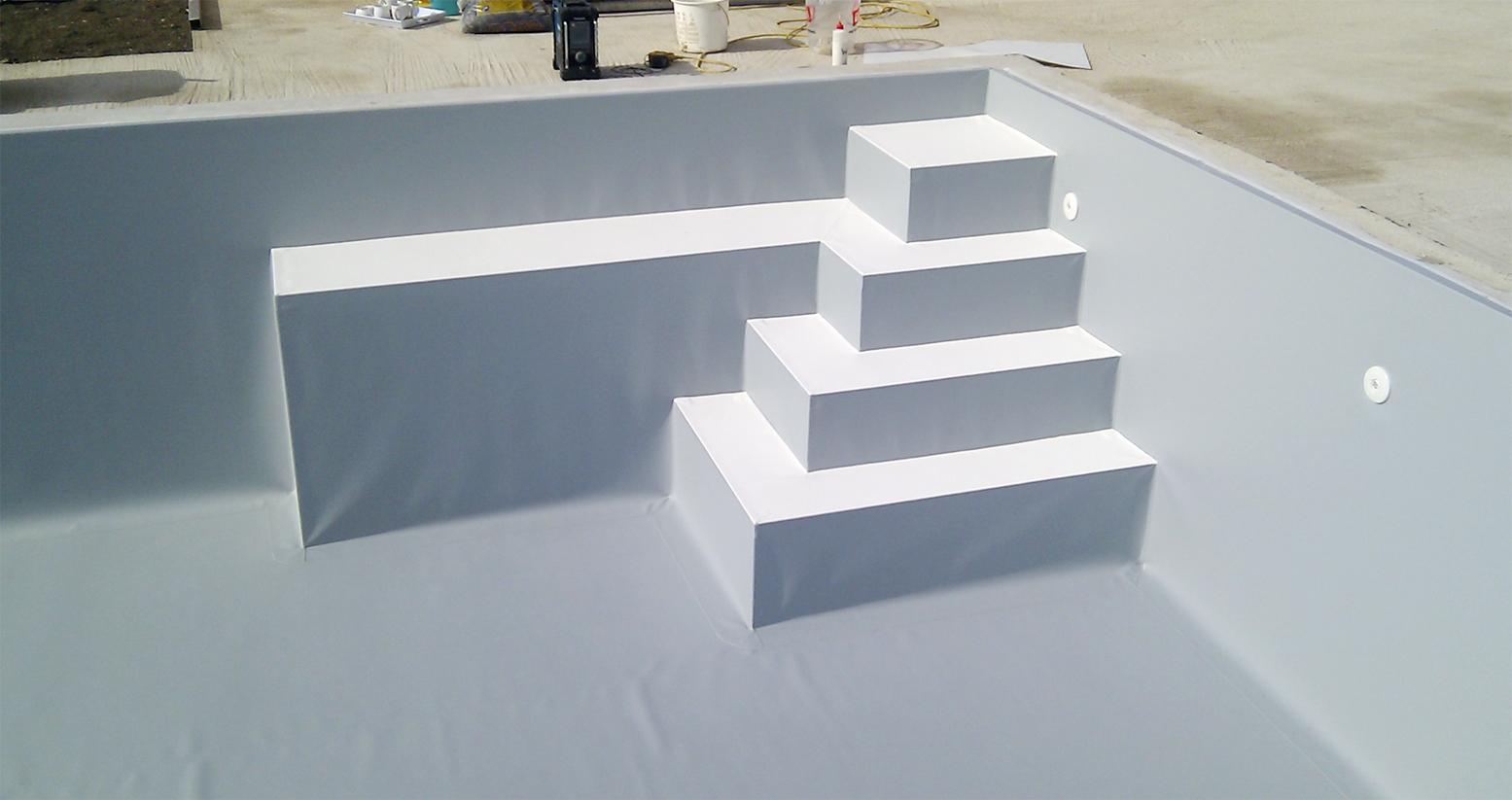 treppe pool selber bauen