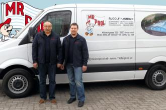Rudolf und Bernhard Haunold
