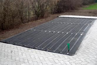 Solaranlage bodenverlegt